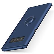 Etui Til Samsung Galaxy Note 8 Note 5 Ringholder Syrematteret Bagcover Helfarve Hårdt PC for Note 8 Note 5 Note 4 Note 3