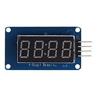 abordables Accesorios para Arduino-0,36 pulgadas módulo digital de 4 bits led módulo 5v
