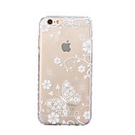 Назначение iPhone X iPhone 8 Чехлы панели Ультратонкий С узором Задняя крышка Кейс для Бабочка Мягкий Термопластик для Apple iPhone X