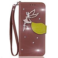 preiswerte Handyhüllen-Hülle Für Xiaomi Redmi 2 Redmi 4a Redmi 4X Kreditkartenfächer Geldbeutel Strass mit Halterung Flipbare Hülle Ganzkörper-Gehäuse