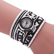 Недорогие Женские часы-Жен. Имитационная Четырехугольник Часы Часы-браслет Модные часы Китайский Кварцевый Повседневные часы PU Группа Кулоны Винтаж На каждый