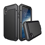 Para iPhone X iPhone 8 Plus Carcasa Funda Agua / Polvo / prueba del choque Cuerpo Entero Funda Armadura Dura Metal para Apple iPhone X