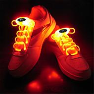 voordelige Schoenveters-HKV 1 stuks LED Night Light LED-schoenveters Roze Blauw Groen Wit RGB Batterij Decoratief