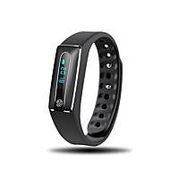 billige Smart aktivitetsmålere, clips og armbånd-Smart armbånd iOS Android iPhone Vandafvisende Lang Standby Skridttællere Sundhedspleje Sport Pulsmåler Vækkeur Distance Måling