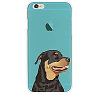 Til iPhone X iPhone 8 Etuier Mønster Bagcover Etui Hund Blødt TPU for Apple iPhone X iPhone 8 Plus iPhone 8 iPhone 7 Plus iPhone 7 iPhone