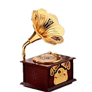 お買い得  クラシックトイ-オルゴール モデル作成キット おもちゃ レトロ風 調度品 プラスチック ヴィンテージ レトロ風 小品 男女兼用 バレンタイン・デー ギフト
