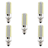 cheap LED Corn Lights-BRELONG Dimmable E11 E12 E14 E17 8W 152x3014SMD 3000-3500K/6000-6500K Warm White/White Light LED Corn Bulb AC110V/220V 5pcs
