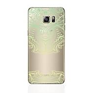 Кейс для Назначение SSamsung Galaxy S8 Plus S8 Прозрачный С узором Задняя крышка С сердцем Кружева Печать Мягкий TPU для S8 Plus S8 S7