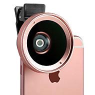 xihama d8 Handylinse 120 Weitwinkelobjektiv Makroobjektiv Aluminiumlegierung 60mm für androides iphone