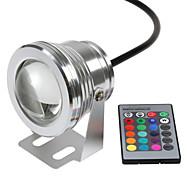 お買い得  -hkv®は水中ライトのdimmable rgb 10w 12vを導いた水中ライト16色1000lm防水ip67噴水プールランプ照明