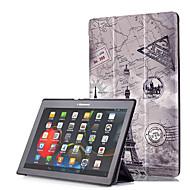 お買い得  タブレット用アクセサリー-ケース 用途 Lenovo フルボディーケース / タブレットケース ハード PUレザー のために