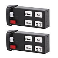 FQ777 FQ02-04 2 개 batteri RC 쿼드 콥터 메탈릭 폴리에스테론