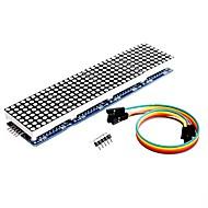 olcso Arduino tartozékok-megjelenik a max7219 pontmátrix modul 4