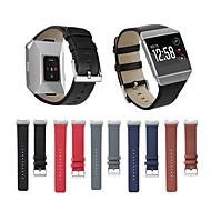 Недорогие Аксессуары для смарт-часов-Ремешок для часов для Fitbit ionic Fitbit Классическая застежка Натуральная кожа Повязка на запястье