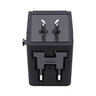 Недорогие Smart Plug-штепсельная вилка конвертер для путешествий многофункциональный штекерный конвертор универсальная розетка для зарядного устройства с USB