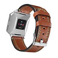 Недорогие Аксессуары для смарт-часов-Ремешок для часов для Fitbit ionic Fitbit Спортивный ремешок Натуральная кожа Повязка на запястье
