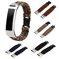 Недорогие Аксессуары для смарт-часов-Ремешок для часов для Fitbit Alta HR / Fitbit Alta / Fitbit ionic Fitbit Современная застежка Нейлон Повязка на запястье