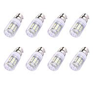 お買い得  LED コーン型電球-8個入り 2W 150lm LEDコーン型電球 T 30 LEDビーズ SMD 5730 LEDライト 温白色 ホワイト 110-120V