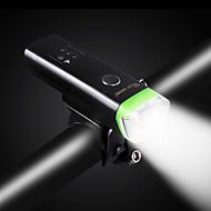 billige -Sykkellykter Belysning Frontlys til sykkel sikkerhet lys LED LED Sykling Bærbar Profesjonell Justerbar Vanntett Fort Frigjøring Lithium