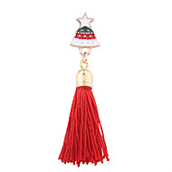 お買い得  クリスマスジュエリー-女性用 ブローチ ファッション クリスマス 合金 ジュエリー ジュエリー 用途 クリスマス