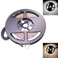 Χαμηλού Κόστους LED Φωτολωρίδες-25w usb οδήγησε λωρίδα φωτός dc 5v 2835 smd 60 leds / meter 240 leds / roll τηλεόραση φωτισμός φόντου ζεστό / δροσερό λευκό (1 τεμάχιο)