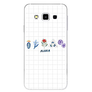 Недорогие Чехлы и кейсы для Galaxy A5(2016)-Кейс для Назначение SSamsung Galaxy С узором Кейс на заднюю панель Геометрический рисунок Цветы Мягкий ТПУ для A3 (2017) A5 (2017) A7