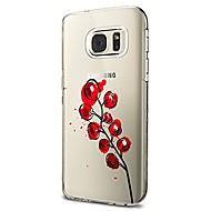 Кейс для Назначение SSamsung Galaxy S8 Plus S8 Прозрачный С узором Задняя крышка Фрукты Мягкий TPU для S8 S8 Plus S7 edge S7 S6 edge plus