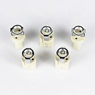 abordables Bases de Lámpara-g9 cerámica lampholde 5pcs