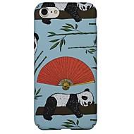 Назначение iPhone X iPhone 8 Чехлы панели С узором Задняя крышка Кейс для Панда Мягкий Термопластик для Apple iPhone X iPhone 8 Plus