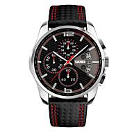 SKMEI Heren Dames Sporthorloge Militair horloge Dress horloge Zakhorloge Slim horloge Modieus horloge Polshorloge Unieke creatieve