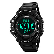 SKMEI -1180 Slim horloge Waterbestendig Lange stand-by Stappentellers Hartslagmeter Wekker Timer Multifunctioneel Draagbaar Informatie