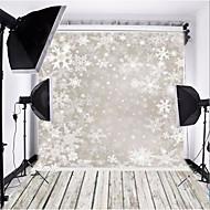 seulement ombre neige fond photographie tissu 0,9 m * 1,5 m pour noël