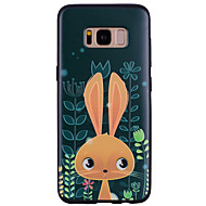 Недорогие Чехлы и кейсы для Galaxy S8-Кейс для Назначение SSamsung Galaxy С узором Кейс на заднюю панель Мультипликация Животное Мягкий Силикон для S8 Plus S8 S7 edge S7 S6