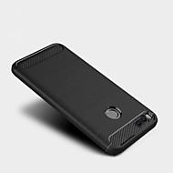 olcso Mobiltelefon tokok-Case Kompatibilitás Xiaomi Redmi Note 4X Mi 5X Jeges Fekete tok Tömör szín Puha TPU mert Xiaomi Redmi Note 4X Xiaomi Redmi Note 4 Xiaomi