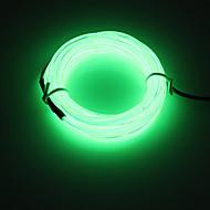 olcso -brelong 5m dc12v el 12v led szalag fény kerek vonal - tápegység