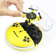 billige -RC Drone FQ777 FQ04 4 Kanal 6 Akse 2.4G Med 0.3MP HD-kamera Fjernstyrt quadkopter LED-belysning Hodeløs Modus Med kamera Fjernstyrt