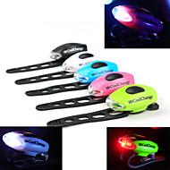 お買い得  フラッシュライト/ランタン/ライト-自転車用ライト 安全ライト 後部バイク光 自転車グローライト LED - サイクリング 警告 コンパクトデザイン CR2032 50-70lm ルーメン バッテリー サイクリング - CoolChange