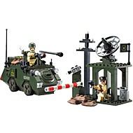 cheap Toys & Hobbies-ENLIGHTEN Building Blocks Tank Toys Tank People Military Non Toxic Classic Warrior Children's Adults' Boys' 187 Pieces