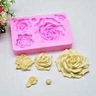 お買い得  キッチン用小物-ベークツール シリコーンゴム / シリカゲル / シリコーン 焦げ付き防止 / ベーキングツール / 3D クッキー / チョコレート / 調理器具のための ケーキ型 1個