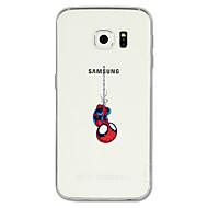 Недорогие Чехлы и кейсы для Galaxy S8-Кейс для Назначение SSamsung Galaxy S8 Plus / S8 С узором Кейс на заднюю панель Мультипликация Мягкий ТПУ для S8 Plus / S8 / S7 edge