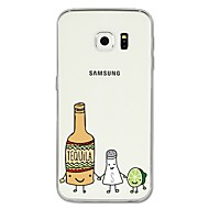 Недорогие Чехлы и кейсы для Galaxy S-Кейс для Назначение SSamsung Galaxy S8 Plus / S8 С узором Кейс на заднюю панель Мультипликация / Фрукты Мягкий ТПУ для S8 Plus / S8 / S7 edge