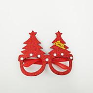 abordables Accesorios para Hogar y Mascotas-Navidad juguete gafas ornamento de navidad