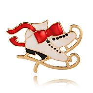 Недорогие Новогодние украшения-Жен. Броши Классический Милая Elegant Сплав Прочее Бижутерия Назначение Рождество Новый год