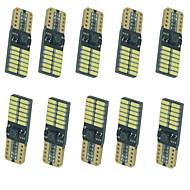 Недорогие Сигнальные огни для авто-10 шт. Автомобиль Лампы 5W SMD 4014 8 Лампа поворотного сигнала For Универсальный Все года