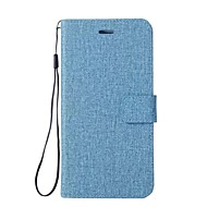 billige Mobilcovers-Etui Til Motorola Z2 play G5 Plus G5 E4 Plus C plus C Pung Kortholder Med stativ Flip Heldækkende Helfarve Anden Hårdt Kunstlæder for