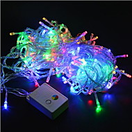 cheap LED String Lights-Lights 20m/200leds Led String 220V for Holiday/Party/Wedding/New Year Home Decoration Free Shipping EU