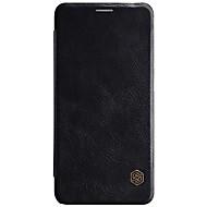 olcso Mobiltelefon tokok-Case Kompatibilitás Huawei Mate 10 lite Kártyatartó Flip Héjtok Tömör szín Kemény PU bőr mert Mate 10 lite Huawei