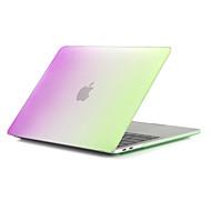 """お買い得  MacBook 用ケース/バッグ/スリーブ-MacBook ケース つや消し カラーグラデーション ポリカーボネート のために 新MacBook Pro 15"""" / 新MacBook Pro 13"""" / MacBook Pro 15インチ"""