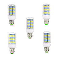 10W E14 B22 E26/E27 LED Corn Lights T 126 SMD 2835 900-1000 lm Warm White Cold White 2800-3200/6000-6500 K Decorative AC 220-240 V 5pcs