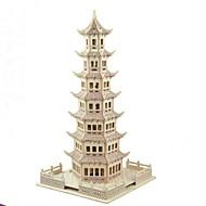 お買い得  おもちゃ & ホビーアクセサリー-3Dパズル / モデル作成キット / ウッド模型 ハウス型 / ファッション / タワー・塔 子供 / 新デザイン / ホット販売 木製 1 pcs クラシック / コンテンポラリー / ファッション 子供用 ギフト